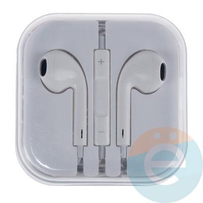Наушники-ракушки Apple EarPods для iPhone/iPad/iPod (1 категория) белые - фото 16624