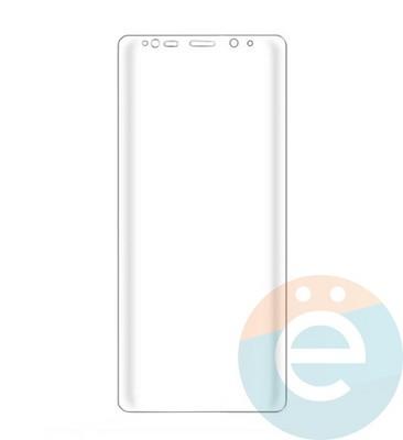 Защитное стекло 2D полноэкранное (с закруглёнными краями) на Samsung Galaxy Note 8 прозрачное - фото 15654