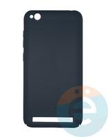 Накладка пластиковая перфорированная на Xiaomi Redmi 5A синяя