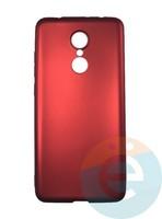 Накладка силиконовая j-Case на Xiаomi Redmi 5 красная