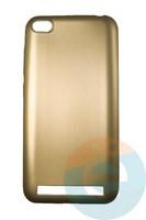 Накладка силиконовая j-Case на Xiаomi Redmi 5A золотистая