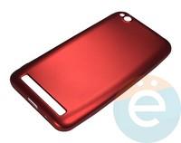 Накладка силиконовая j-Case на Xiаomi Redmi 5A красная