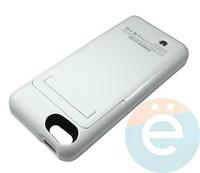 Накладной аккумулятор 3200 mAh на Apple iPhone 5 белый