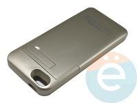 Накладной аккумулятор 3200 mAh на Apple iPhone 5 золотистый