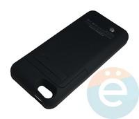 Накладной аккумулятор 3200 mAh на Apple iPhone 5 чёрный