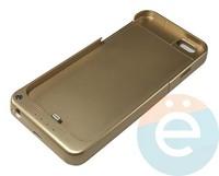 Накладной аккумулятор 4600 mAh на Apple iPhone 6 золотистый