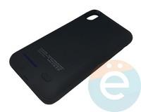 Накладной аккумулятор 4000 mAh на Apple iPhone X чёрный