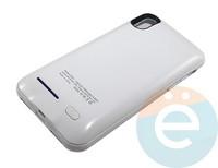 Накладной аккумулятор 4000 mAh на Apple iPhone X белый
