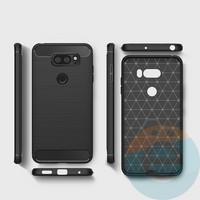 Накладка силиконовая Carbon 360 на Xiaomi Redmi 5 чёрная