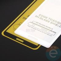 Защитное стекло 5D с полной проклейкой на Samsung Galaxy J6 Plus чёрное