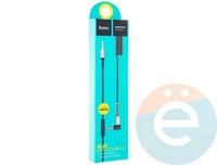 AUX Кабель Hoco UPA02 Audio Cable 3.5mm с микрофоном 2М чёрный