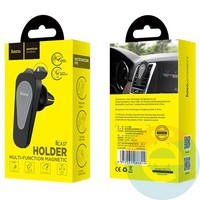 Держатель автомобильный HOCO CA37 Air outlet multi-function magnetic чёрный