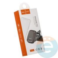 Держатель автомобильный HOCO CA25 Lotto series magnetic SD port чёрный