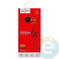 Наушники HOCO M44 с микрофоном красные