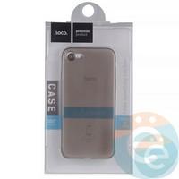 Накладка пластиковая Hoco на Apple iPhone 7/8 тёмно-прозрачная