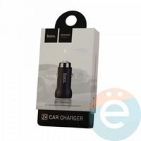 Автомобильное зарядное устройство HOCO Z4 1 USB 2.0A чёрное