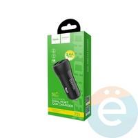 Автомобильное зарядное устройство HOCO Z21 2 USB 3.4A чёрное