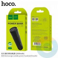 Дополнительный аккумулятор HOCO B35 1USB 2600 m/Ah чёрный