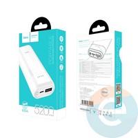 Дополнительный аккумулятор HOCO B35A 2USB 5200 m/Ah белый