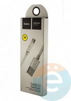 Usb Кабель HOCO X5 Bamboo на Micro белый