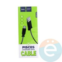 Usb Кабель HOCO X24 Pisces charging на Type-c чёрный