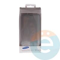 Чехол-книжка боковой на Samsung Galaxy S6 Edge серебристый
