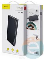 Дополнительный аккумулятор Baseus PPALL-QK1G 1USB 10000 m/Ah чёрный