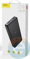 Дополнительный аккумулятор Baseus PPALL-M3601 2USB 10000 m/Ah чёрный
