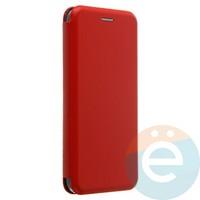 Чехол книжка боковой Fashion Case для Xiaomi Mi A2 lite красный