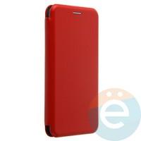 Чехол книжка боковой Fashion Case для Xiaomi Mi Note 3 красный