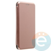 Чехол книжка боковой Fashion Case для Xiaomi Mi 5X/A1 розово-золотистый