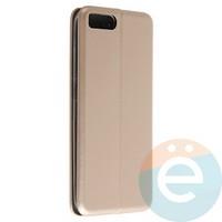 Чехол книжка боковой Fashion Case для Xiaomi Mi 6 золотистый