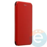 Чехол книжка боковой Fashion Case для Xiaomi Redmi 5 Plus красный