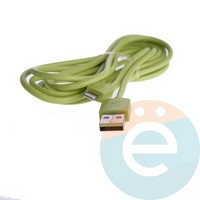 USB кабель Remax RC-006i на Lightning 2м зелёный