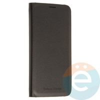 Чехол-книжка боковой на Samsung Galaxy S7 Edge чёрный