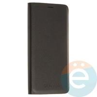 Чехол-книжка боковой на Samsung Galaxy J3 Pro чёрный