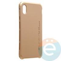 Накладка противоударная Element Case на Apple iPhone XS Max золотистая