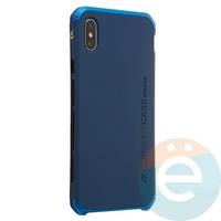 Накладка противоударная Element Case на Apple iPhone XS Max синяя