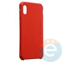 Накладка противоударная Element Case на Apple iPhone XS Max красная