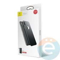 Защитное стекло Baseus SGAPIPH65-BM01 для iPhone Xs Max на заднюю часть чёрное