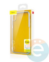 Защитное стекло Baseus SGAPIPH58-ABM0V для iPhone X\Xs на заднюю часть прозрачное