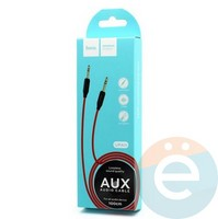 AUX Кабель Hoco UPA11 Audio Cable 3.5mm чёрный