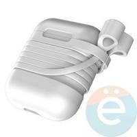 Чехол силиконовый для AirPods Baseus TZARGS-G2 серый