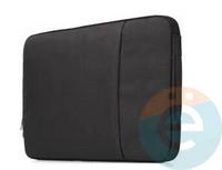 Конверт для ноутбука (11 Дюймов) тканевый на молнии чёрный