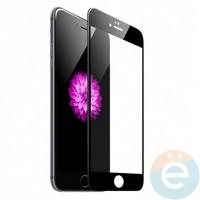 Защитное стекло 5D с полной проклейкой на Apple iPhone 6 Plus/6s Plus чёрное