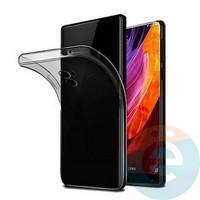 Накладка силиконовая ультра-тонкая на Xiaomi Redmi Note 4X тёмно-прозрачная