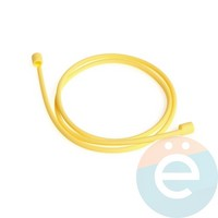 Шнурок силиконовый для Apple Airpods оранжевый