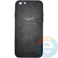 Накладка комбинированная BAT для iPhone 6/6s чёрная