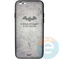 Накладка комбинированная BAT для iPhone 6/6s серая