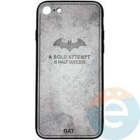 Накладка комбинированная BAT для iPhone 7/8 серая